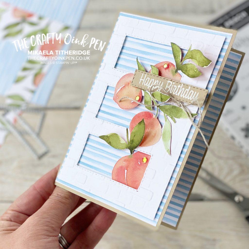 ASTB You're a Peach Birthday Card
