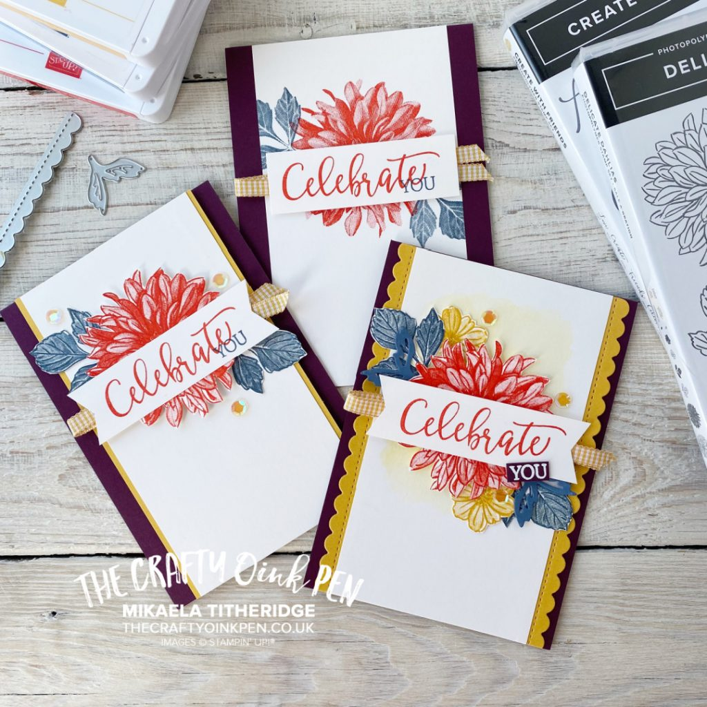 Delicate Dahlias and Create with Friends Set