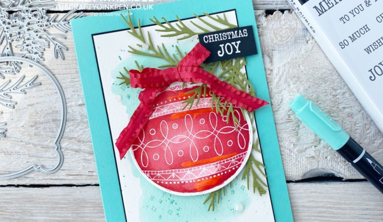 Stampin' Fancy Friday – Colour Challenge