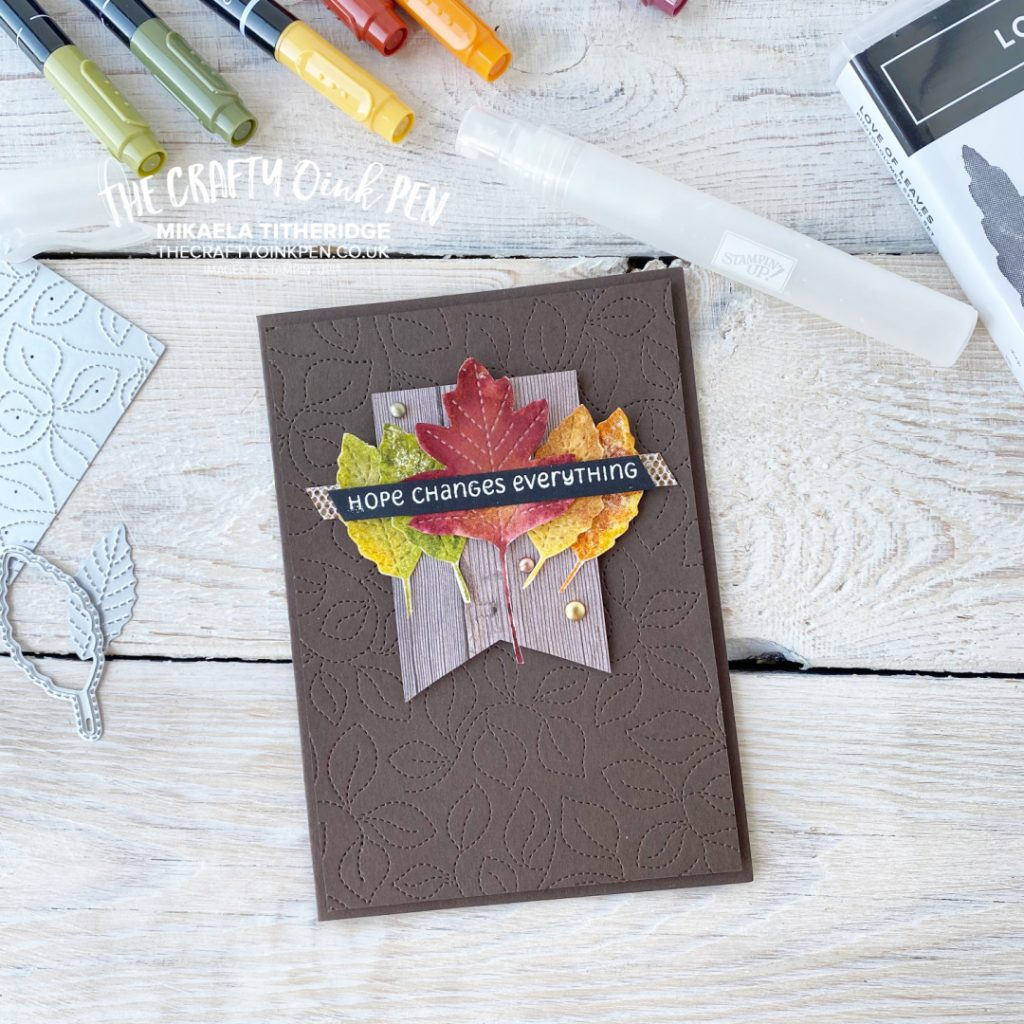 Love of Leaves and Changing Seasons Card
