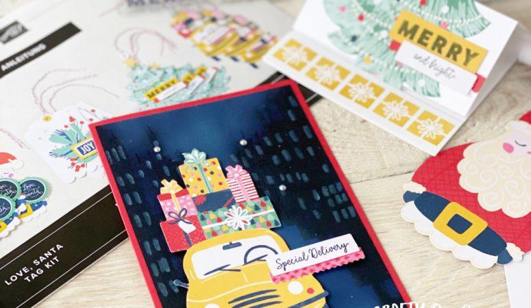 Love, Santa Tag Kit and a Fairytale of New York