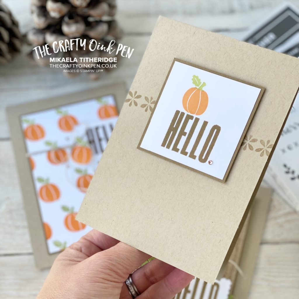 Banner Year and Biggest Wishes for As the Season Turns Hello Card