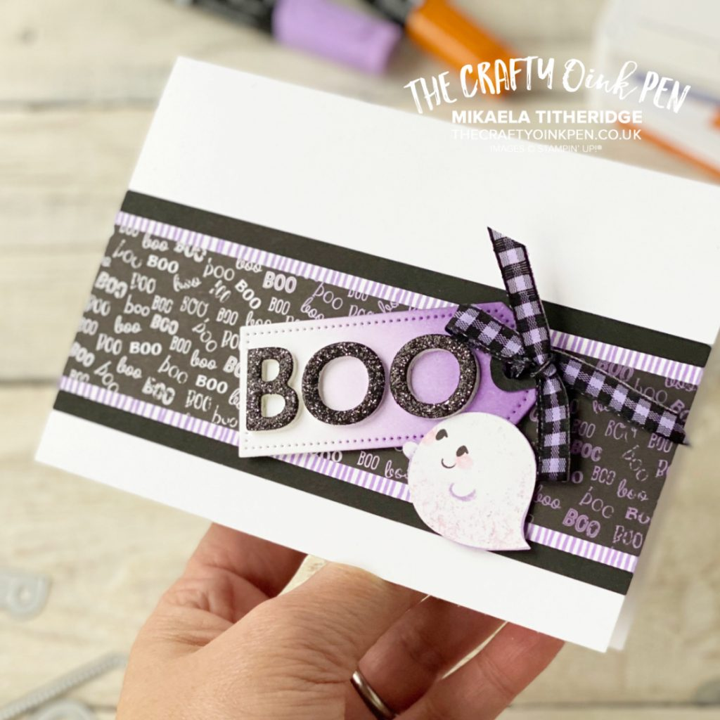 Cute Halloween Card made by The Crafty oINK Pen