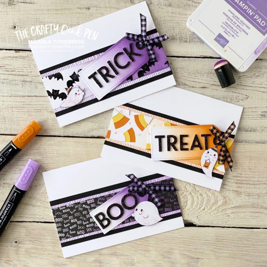YCCI Papercraft Kit Cute Halloween Cards