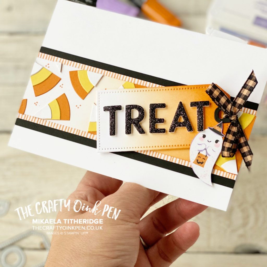 YCCI- You Can Create It Papercraft Kit and a Treat Card for Cute Halloween